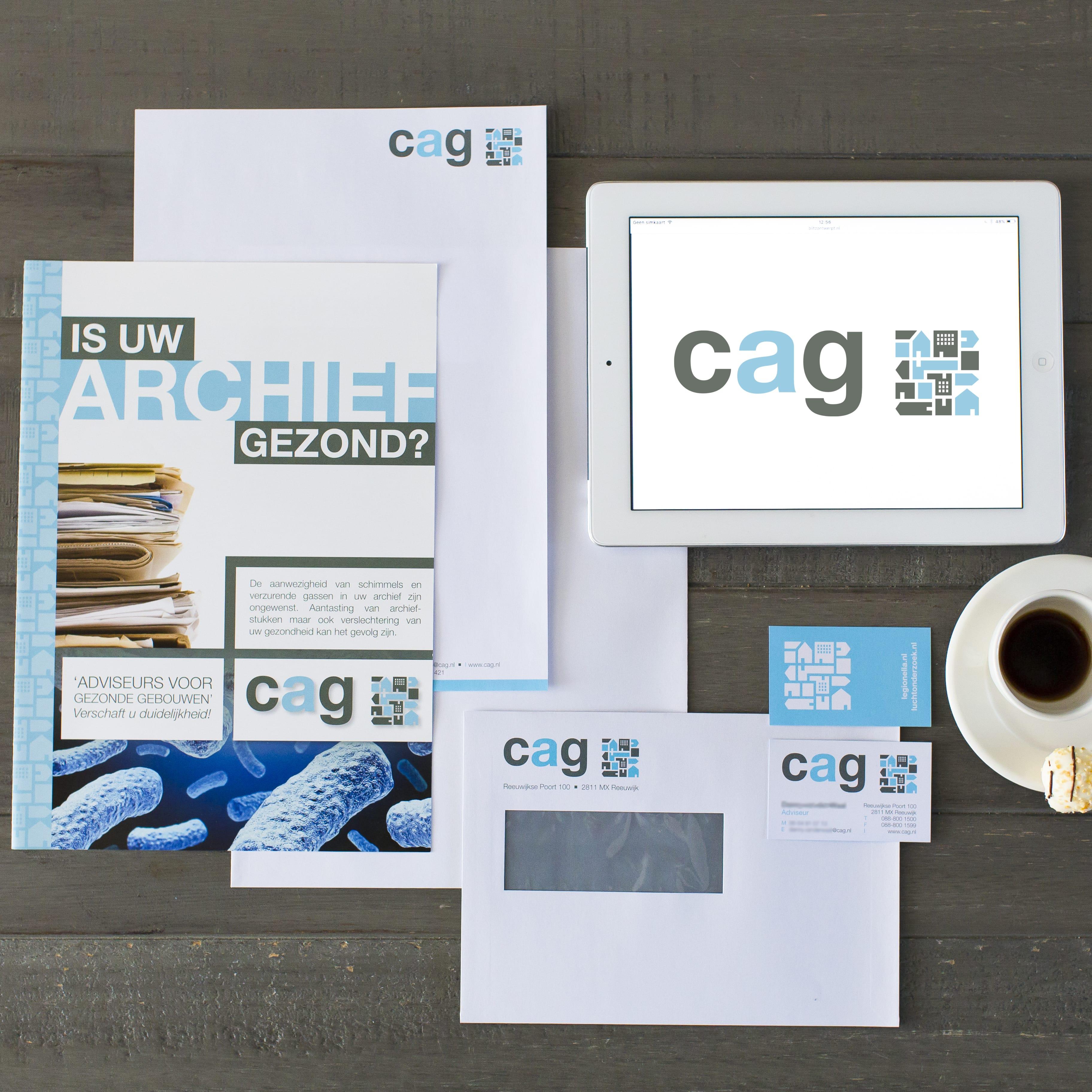 logo huisstijl CAG