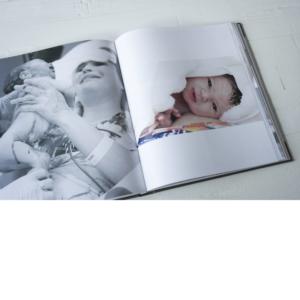 Boek hardcover geboortefotografie