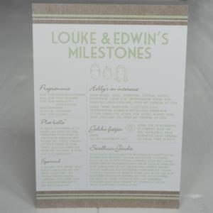 trouwen trouwkaarten milestone cards kaftpapier illustraties origineel