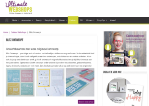 ultimate webshops blitz ontwerpt