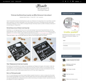 blog Ultimate Webshops