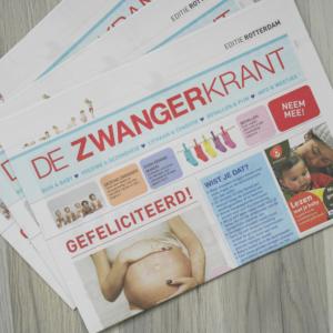 Blitz Ontwerpt zwangerkrant Rotterdam