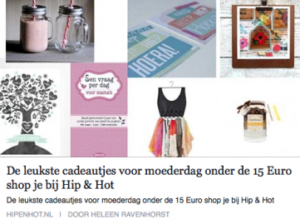 Liseth Blitz blogt voor Hip & Hot