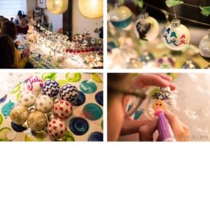 Blitz Ontwerpt Workshop Kerstballen versieren