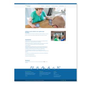 Website Ergotherapie Krimpen Blitz Ontwerpt