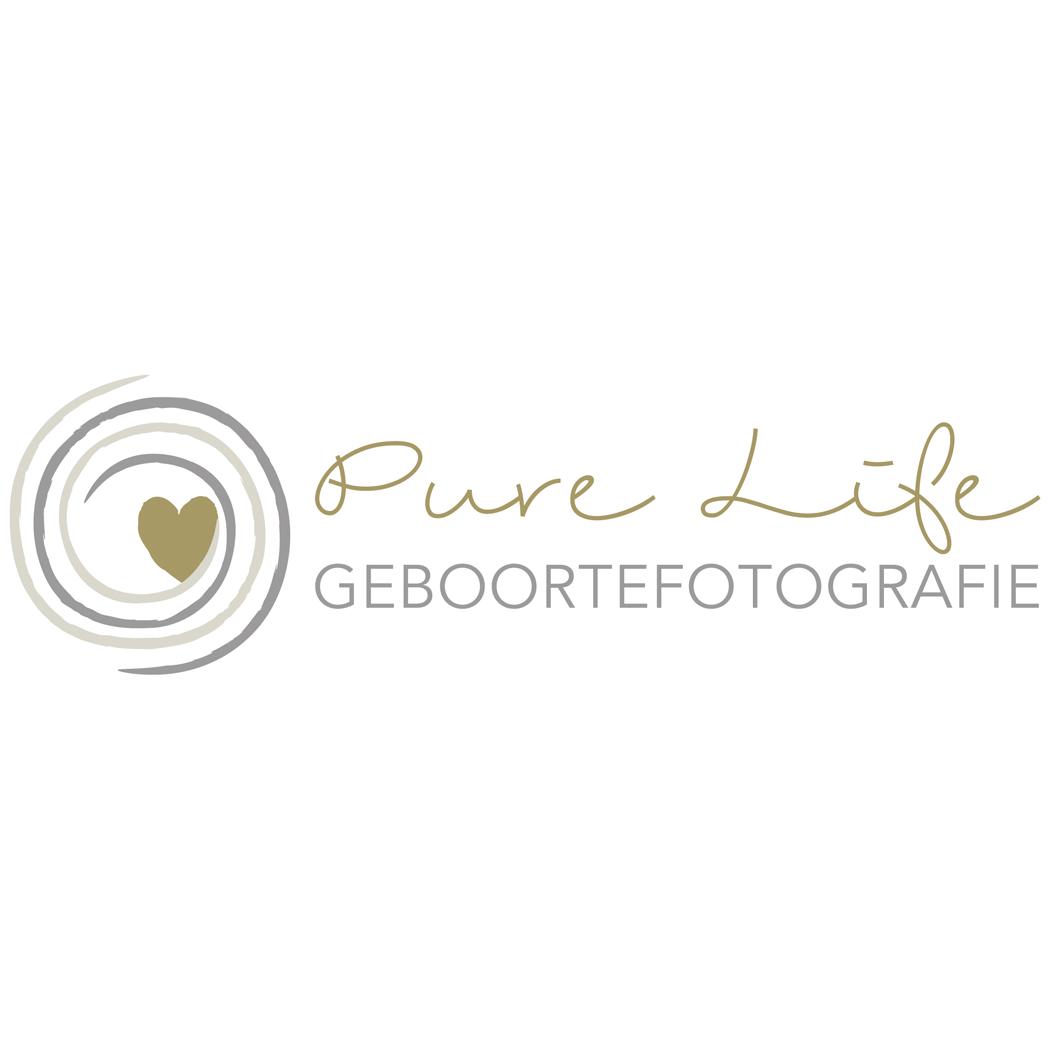 Logo geboortefotografie Pure Life