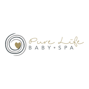 Logo Pure Life Baby Spa Valkenburg Blitz Ontwerpt