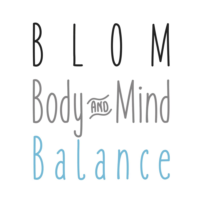 Blitz Ontwerpt logo blom body mind balance