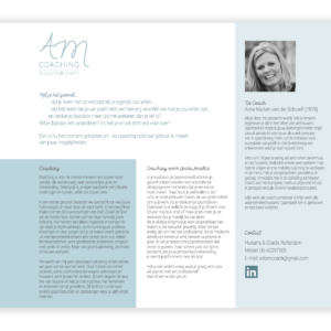 website AM coaching huisarts coach_blitz ontwerpt