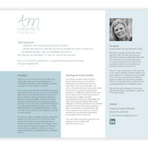 website AM coaching huisarts coach_blitz ontwerpt