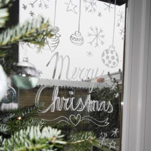 Blitz Ontwerpt Kerst raamschildering