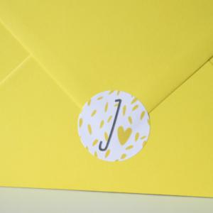 Geboortekaart sticker sluitzegel Juul_Blitz Ontwerpt