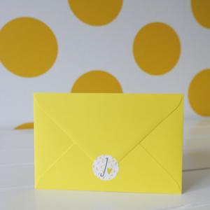 Geboortekaart envelop sticker sluitzegel Juul_Blitz Ontwerpt