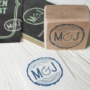 Trouwkaart save the date_MJ_Stempel