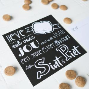 Sint & Piet blitz ontwerpt