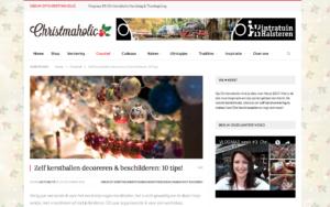 blitz ontwerpt christmaholic blog workshop kerstballen versieren
