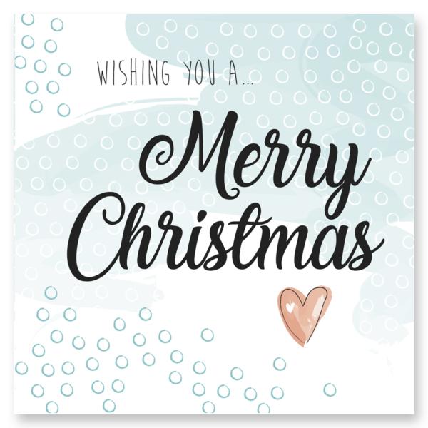 Kerstkaart kerst Blitz Ontwerpt Merry Christmas