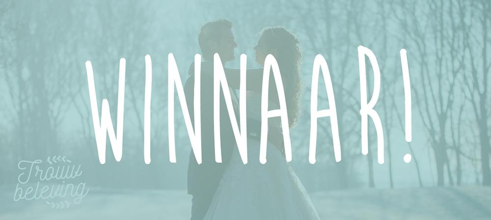 winnaar tickets trouwbeurs rotterdam blitz ontwerpt trouwbeleving