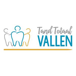 Logo Tandarts praktijk Tand Totaal Vallen_ Blitz Ontwerpt