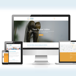 Website webdesign Tandarts praktijk Tand Totaal Vallen_ Blitz Ontwerpt
