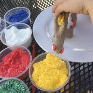 Blitz Ontwerpt zomer foam Clay 012