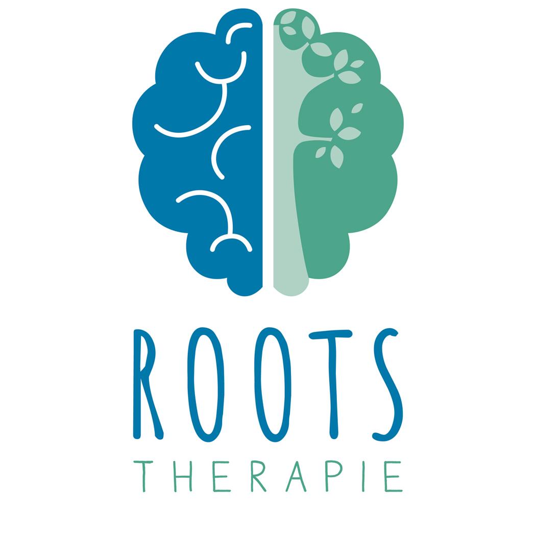 Blitz Ontwerpt logo Roots therapie kindertherapie