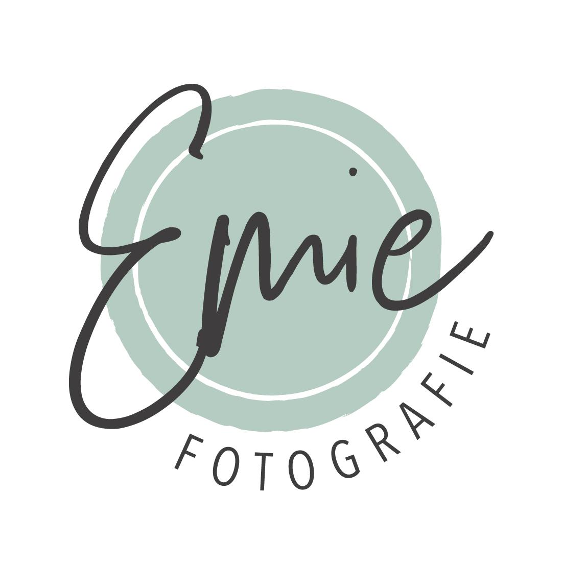 Logo Emie Fotografie Blitz Ontwerpt
