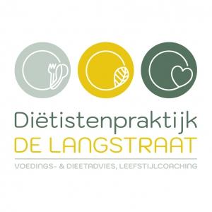 Logo Diëtistenpraktijk De Langstraat _ Blitz Ontwerpt illustraties