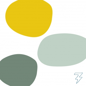 Logo Diëtistenpraktijk Femke van Liere Blitz Ontwerpt illustraties kleurenpalet