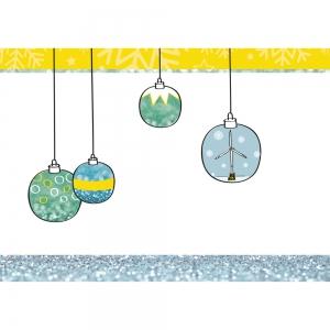 Crane zakelijke kerstkaart illustraties