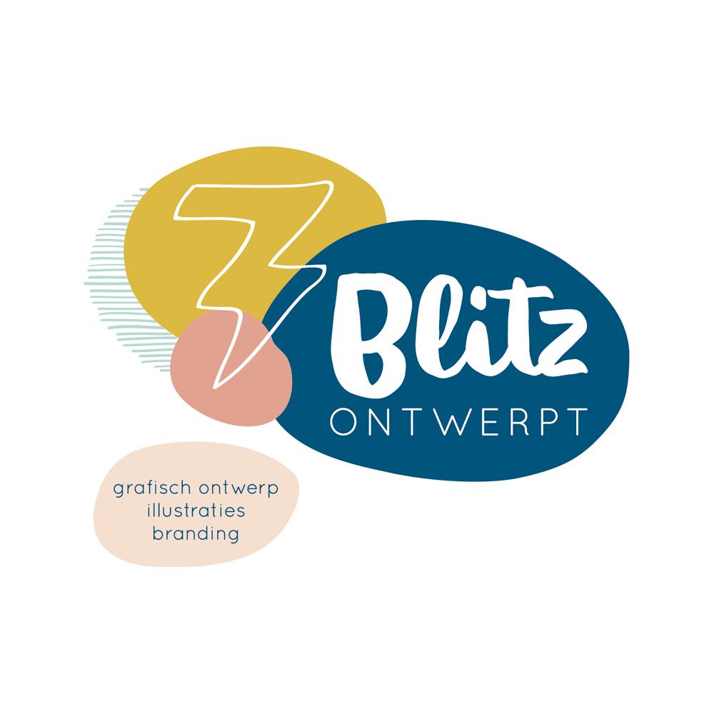 Blitz Ontwerpt Logo illustraties