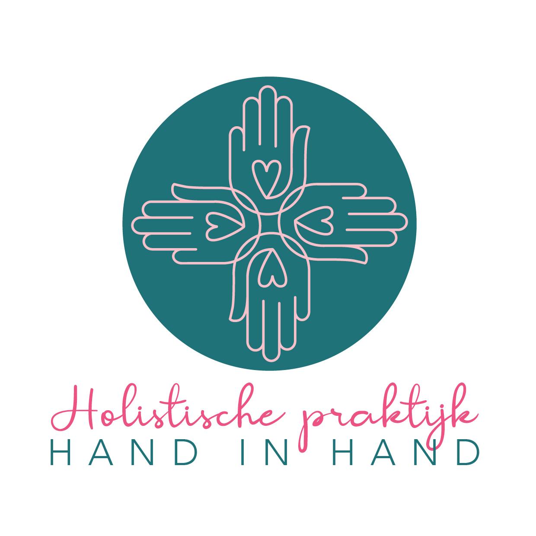 Logo Hand in Hand Holistische praktijk Blitz Ontwerpt