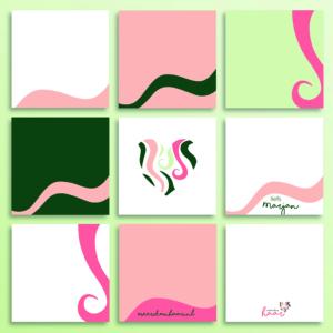 Logo branding Meer dan Haar_haarstyling visagie_Blitz Ontwerpt