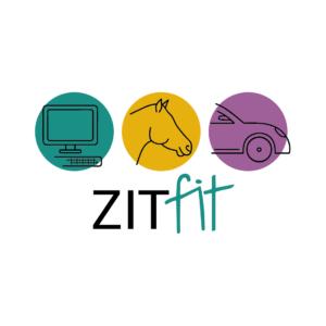 Logo Zitfit fysiotherapie Blitz Ontwerpt
