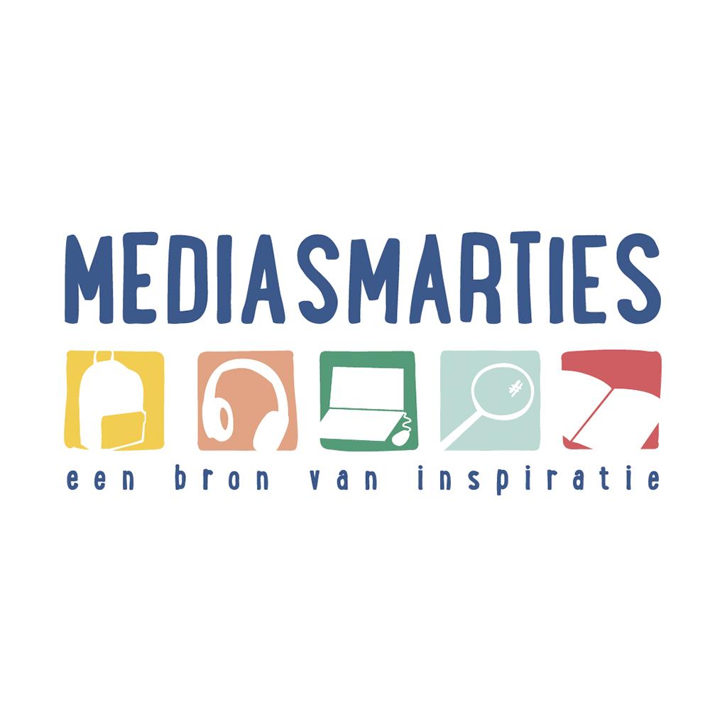 Logo Mediasmarties media_blitz ontwerpt illustraties