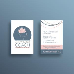 Jouw mind coach logo hypnose nlp_Blitz Ontwerpt visitekaarten