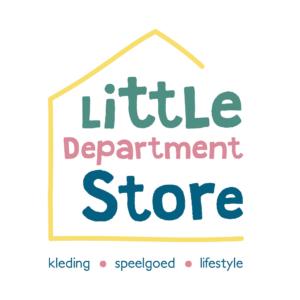 Logo Little Department store Rotterdam kinderkleding speelgoed lifestyle Blitz Ontwerpt