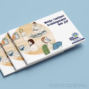 ebook illustraties Leer trainen vanuit je vak Blitz Ontwerpt