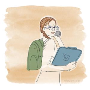 illustraties Leer trainen vanuit je vak Blitz Ontwerpt