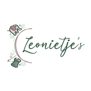 Logo Leonietjes Delft Blitz Ontwerpt