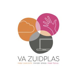 logo Virtueel assistent VA Zuidplas Blitz Ontwerpt