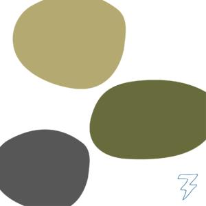 Branding kleurenpalet logo Eline in het onderwijs Blitz Ontwerpt