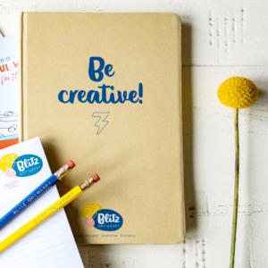 Notitieboek A5 Be Creative Blitz Ontwerpt