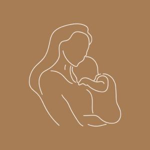 Pure Life Baby Spa illustratie moeder kind Blitz Ontwerpt