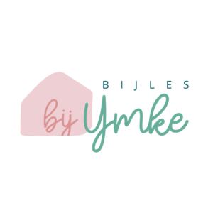 Logo bijles bij Ymke blokhut Blitz Ontwerpt