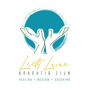 Logo medium Licht leven, krachtig zijn door Blitz Ontwerpt